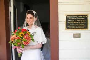 wedding at Philip Foster Farm