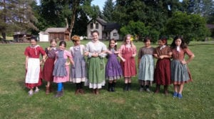 Day Camp: Little House on the Oregon Trail June 29-July 3, 2020